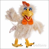 Living Puppets hand puppet Heini the rooster