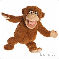 Living Puppets hand puppet monkey