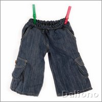Living Puppets clothing: cargo-jeans