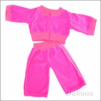 Living Puppets clothing: track suit (hand puppets 65 cm)