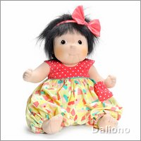 doll little Meiya by Rubens Barn - party collection