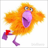 Living Puppets hand puppet bird Wish You - Bird Mail