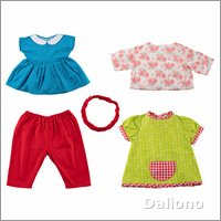 Extra outfit - colourful for Joyk empathy dolls