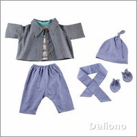 Extra outfit - denim-look for Joyk empathy dolls